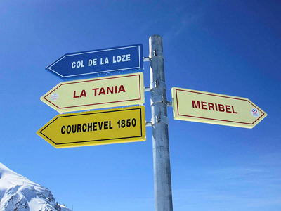 Courchevel: BORD COURCHEVEL LA TANIA MERIBEL LES TROIS VALLEES INTERLODGE