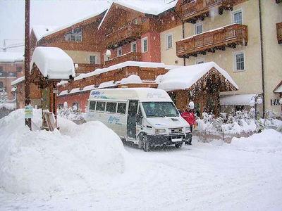 Albergo Dimaro: BUITENKANT ALBERGO DIMARO DIMARO SKIRAMA DOLOMITI WINTERSPORT ITALIE SKI SNOWBOARD RAQUETTES SCHNEESCHUHLAUFEN LANGLAUFEN WANDELEN INTERLODGE