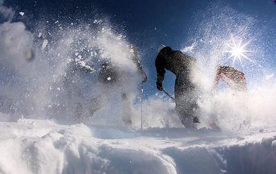 Rocca Pietore: MARMOLADA SUPERDOLOMITI ITALIE WINTERSPORT ITALIE SKI SNOWBOARD RAQUETTE SCHNEESCHUHLAUFEN LANGLAUFEN WANDELEN INTERLODGE