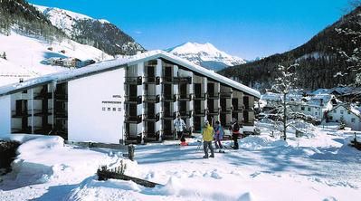 Hotel Portavescovo: BUITENKANT HOTEL PORTAVESCOVO ARABBA DOLOMITI SUPERSKI WINTERSPORT ITALIE SKI SNOWBOARD RAQUETTES SCHNEESCHUHLAUFEN LANGLAUFEN WANDELEN INTERLODGE