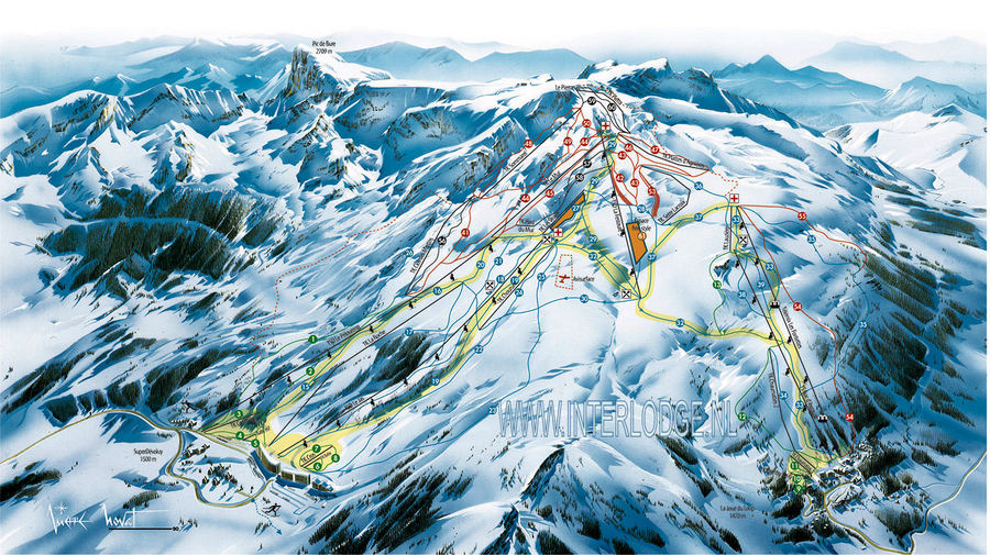 D voluy interlodge wintersport - Office tourisme joue du loup ...