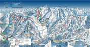 Via Lattea: PISTEKAART VIA LATTEA WINTERSPORT ITALIE INTERLODGE