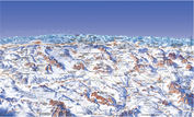 Dolomiti Superski: PISTEKAART DOLOMITI SUPERSKI WINTERSPORT ITALIE INTERLODGE