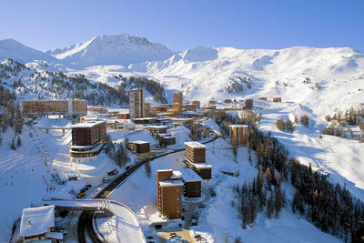 Plagne Centre: BEELD PLAGNE CENTRE PARADISKI FRANKRIJK WINTERSPORT INTERLODGE
