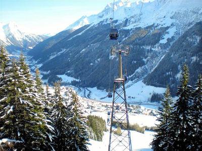 Sankt Anton am Arlberg: ARLBERG ST ANTON GONDELBAAN OOSTENRIJK WINTERSPORT INTERLODGE