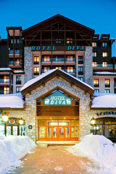 Hotel Diva: BUITENKANT HOTEL DIVA TIGNES VAL CLARET ESPACE KILLY INTERLODGE