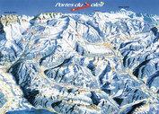 Les Portes du Soleil: Wintersport Les Portes du Soleil, n van de grootste skigebieden ter wereld
