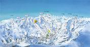 Les Menuires: Wintersport Frankrijk? Les Menuires, pistes en skiliften altijd op loopafstand