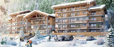 Résidence Les Marmottons: ESPACE SAN BERNARDO LA ROSIERE LES MARMOTTONS WINTERSPORT FRANKRIJK SKI SNOWBOARD LANGLAUF INTERLODGE