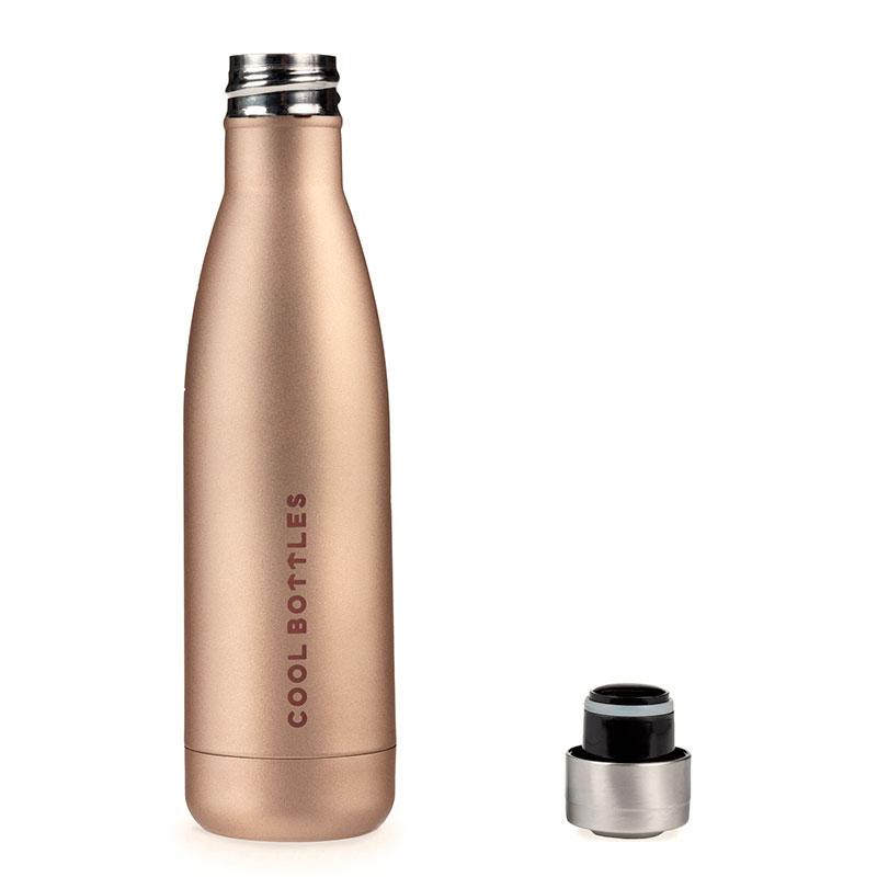 botella de acero inoxidable Metallic Gold