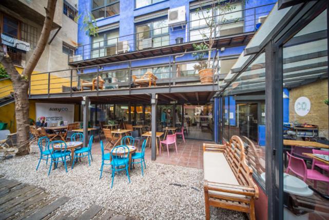 Terraza cafe carousel
