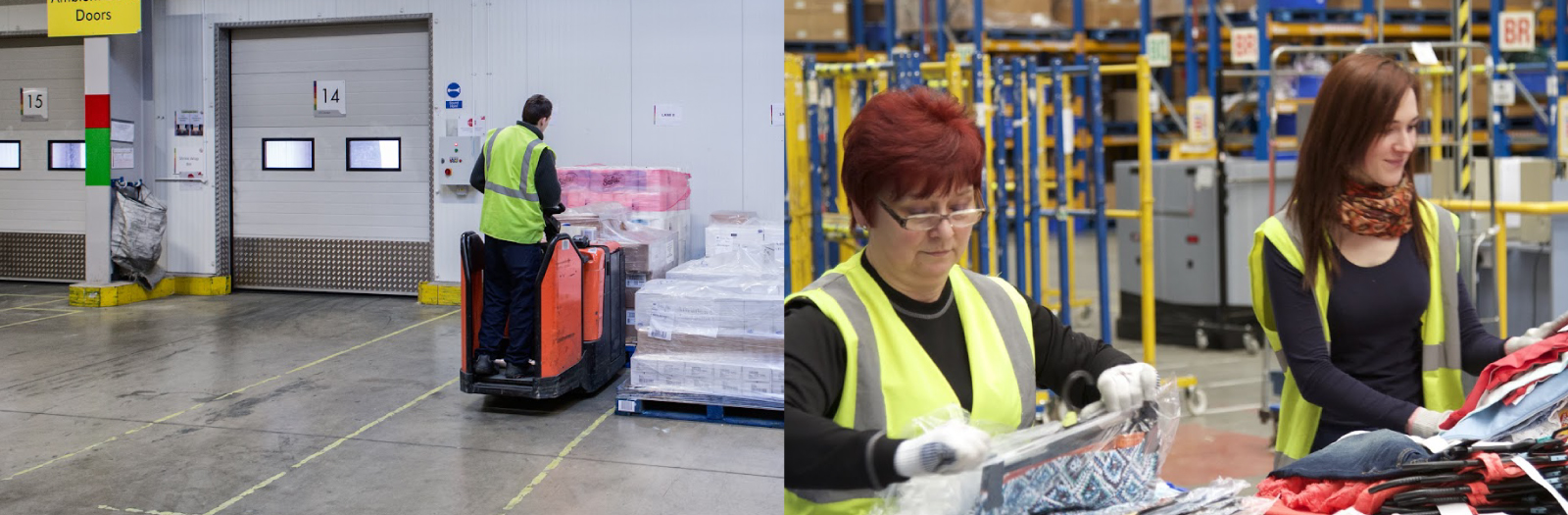 PMP Recruitment Warehouse Operatives in action