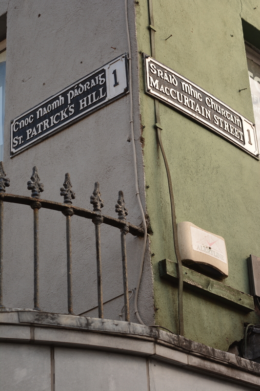 Corner Patrick's Hill MacCurtain Street Cork