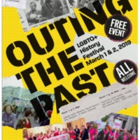 Cork OUTing The Past LGBTQ+ History Festival Leaflet