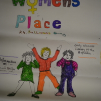 1980s Cork Women's Place Poster