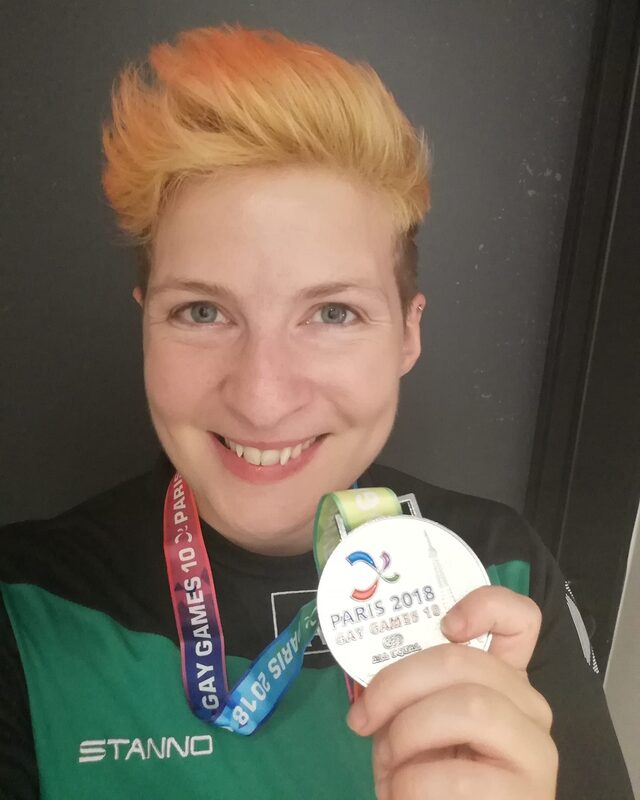 Hollifer Fogarty 2018<br /> Gay Games Paris