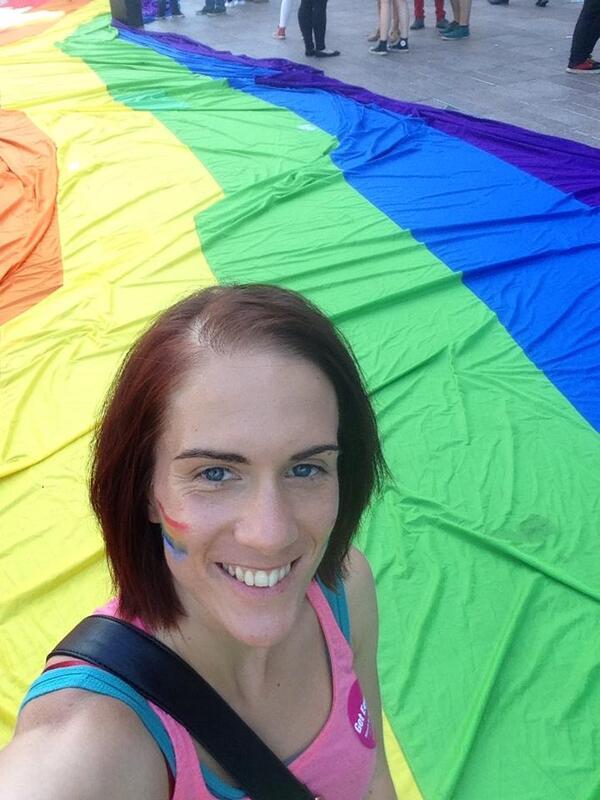 Aoife Cooke Cork Pride 2014