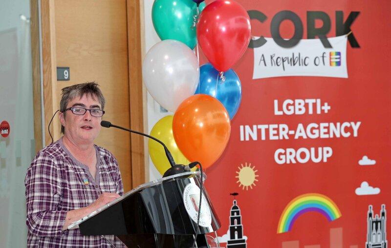 Siobhan O'Dowd 2018<br /> Cork LGBT Awareness Week Launch