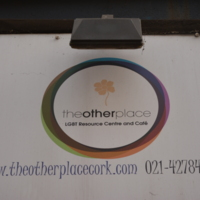 Other Place LGBT Community Centre Over Door Sign