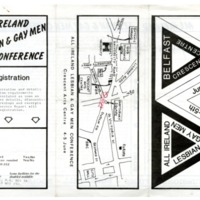 1983 All Ireland Lesbian and Gay Men Conference Belfast Leaflet