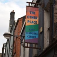 Other Place LGBT Community Centre Sign