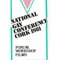 Leaflet 1981 National Gay Conference