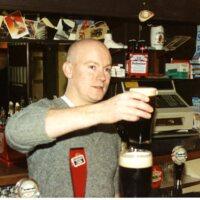 Derrick Gerety Loafers Bar 1980s