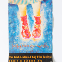 2nd irish lesbian and gay film festival poster Cork 1992 Josef Kovac.jpg