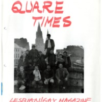Quare Times Spring 1984 Cork Edition