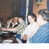 Arthur Leahy, Sara Wilbourne, William O Connor at book launch Diverse Communities Quay Co-op 1994.jpg