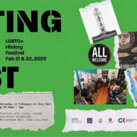 Poster 2nd Outing the Past LGBTQ+ History Festival Cork 2020