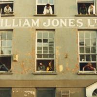 Renovating Quay Co-op 1982<br /><br /> People in Windows