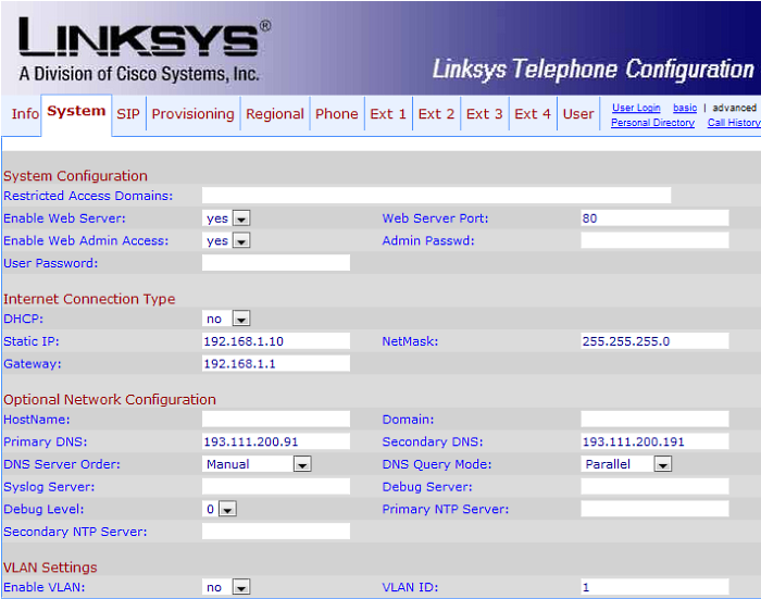 Setting up port forwarding on a Linksys phone – Gradwell Service and