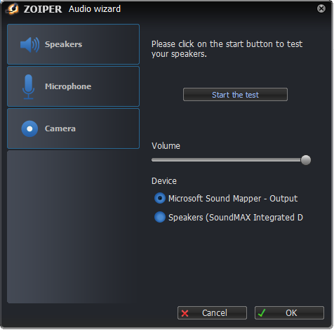 How to use the Zoiper softphone – Gradwell Service and Support
