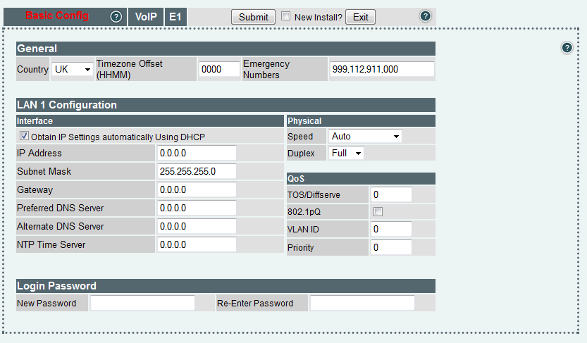 Random Contributions: Sangoma Vega200g gateway with FreePBX