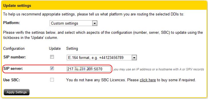 How to configure a DrayTek Vigor IPPBX 2820 – Gradwell Service and