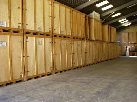 Location caisse en bois 12m3 sevrier 74320 for Garde meuble box yverdon