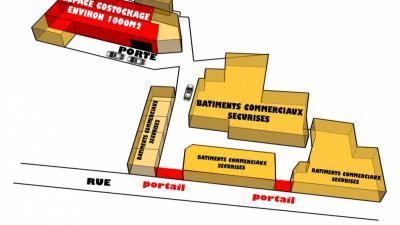 Location BOX 37 de 9 m2 à Marseille (13010)...