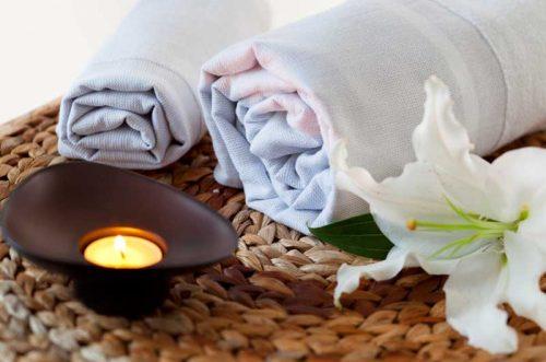 Elite Cotton Hammam Towel White