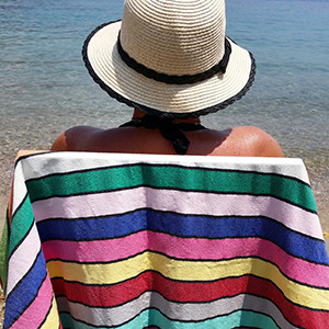 A Typical Beach Day in Bodrum