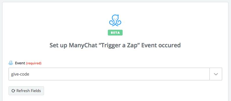 Zap event