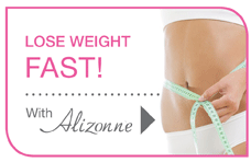 Lose weight fast with the Alizonne weight loss programme