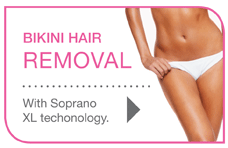 Bikini Hair Removal with Soprano XL Technology
