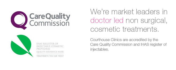 We're market leaders in doctor led non surgical cosmetic treatments.