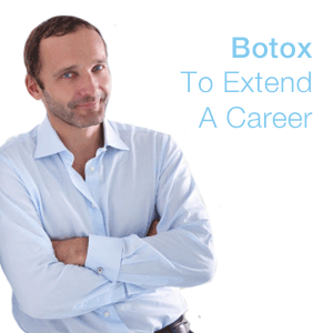 Men Going for Botox to Stay in Work