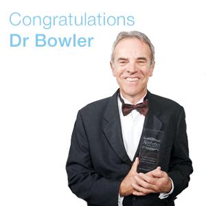 Dr Patrick Bowler Wins Lifetime Achievement Award