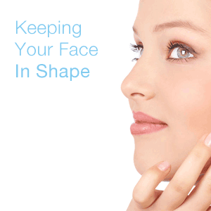 keeping your face in shape with growing collagen