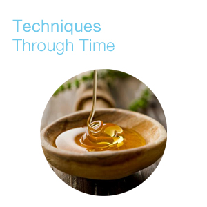 Techniques Through Time Bowl of honey