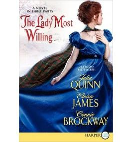 [ [ The Lady Most Willing: A Novel in Three Parts - Large Print ] ] By Quinn, Julia ( Author ) Dec - 2012 [ Paperback ]