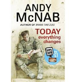 [ TODAY EVERYTHING CHANGES QUICK READ BY MCNAB, ANDY](AUTHOR)PAPERBACK